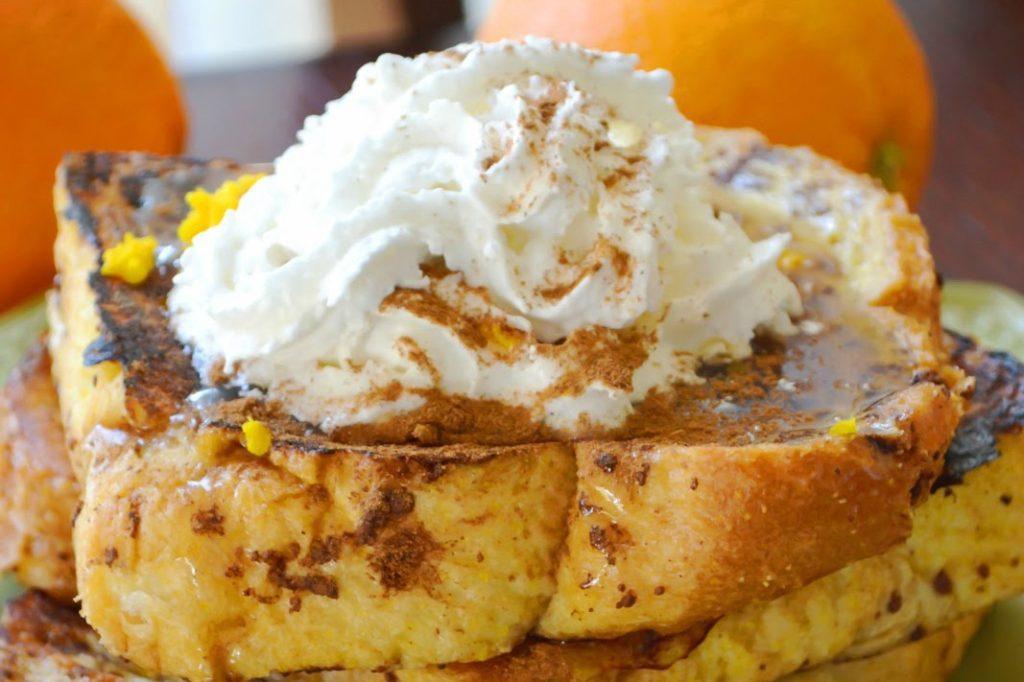 SUPER DELICIOUS Orange French Toast Recipe