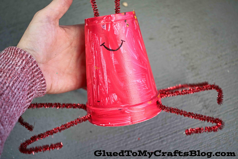 Styrofoam Cup Lobster - Kid Craft
