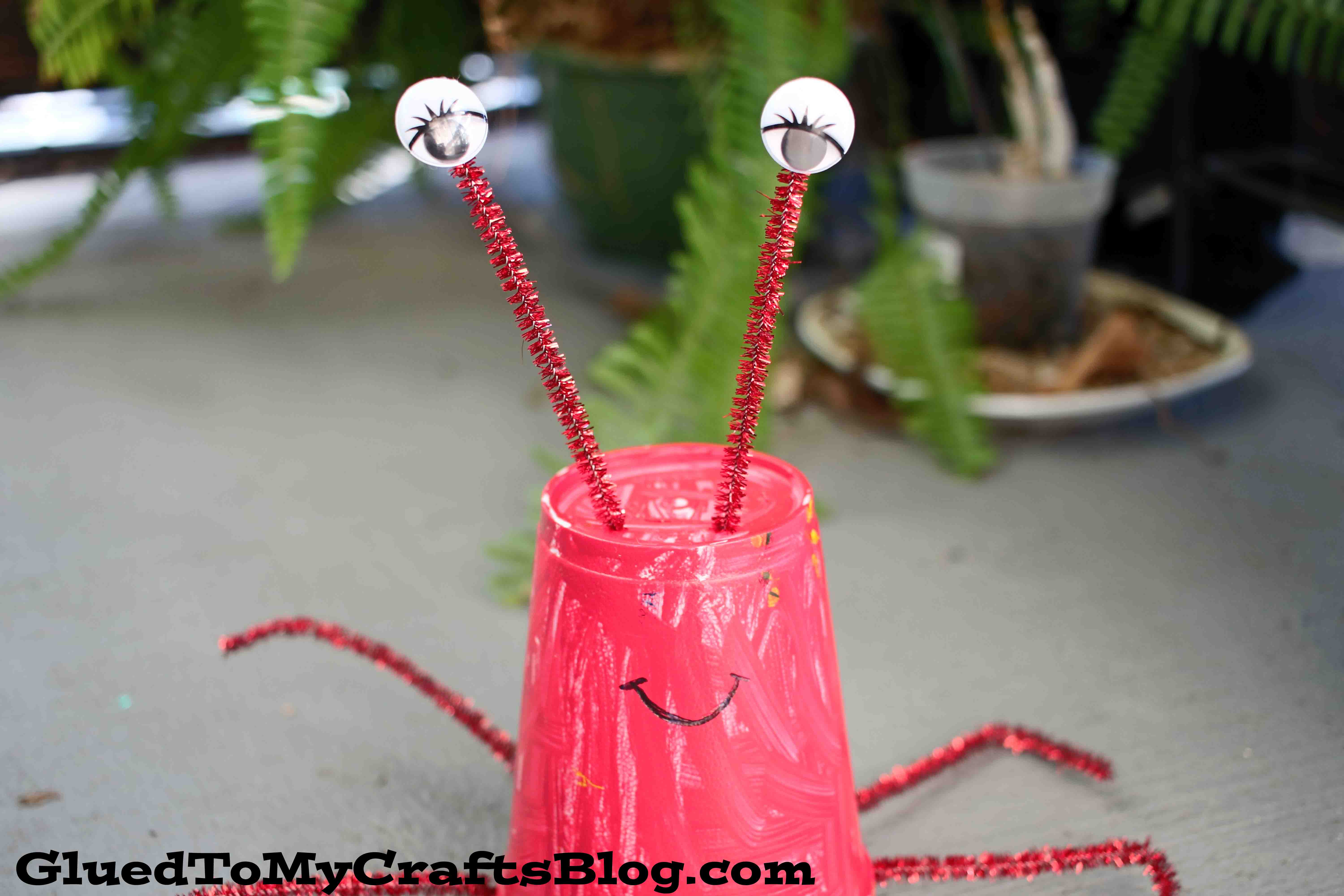 Styrofoam Cup Lobster - Kid Craft
