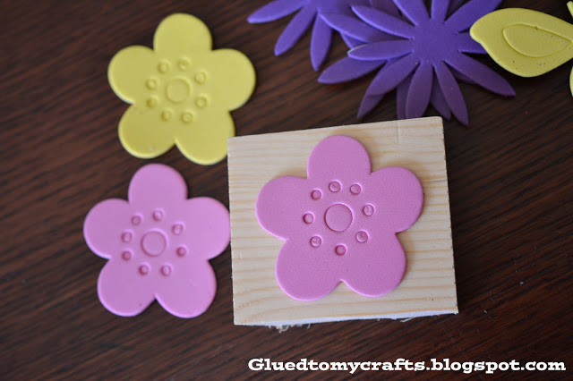 DIY Foam Stamps {Craft}