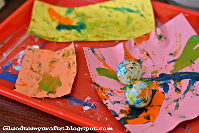 Salad Spinner Art {Kid Craft}