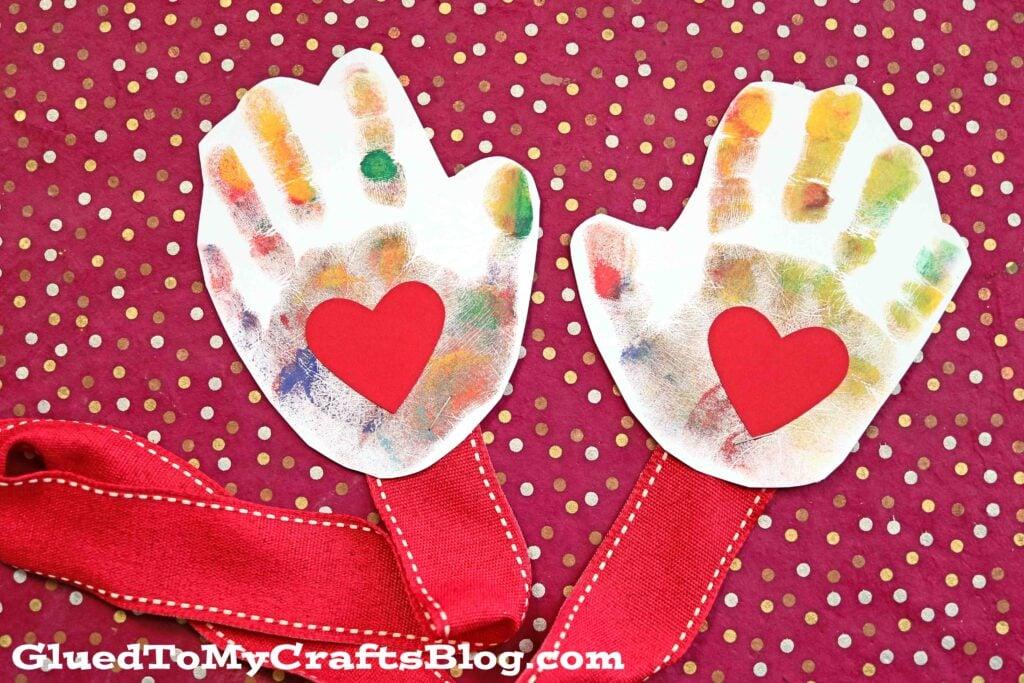 Handprint Mail A Hug {Deployment Craft Idea For Kids}