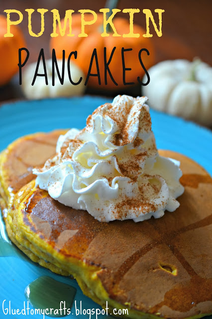 Pumpkin Pancakes {Recipe}