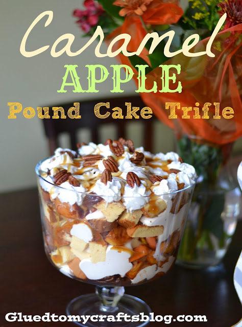Caramel Apple Pound Cake Trifle {Recipe}