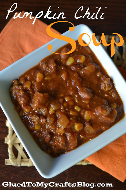 Pumpkin Chili Soup {Recipe}