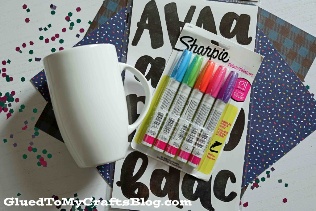 Diy Sharpie Painted Mugs That Won T Wash Away