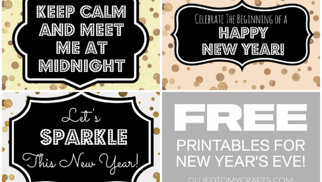 FREE New Year's Eve Confetti Printables For You To Enjoy!