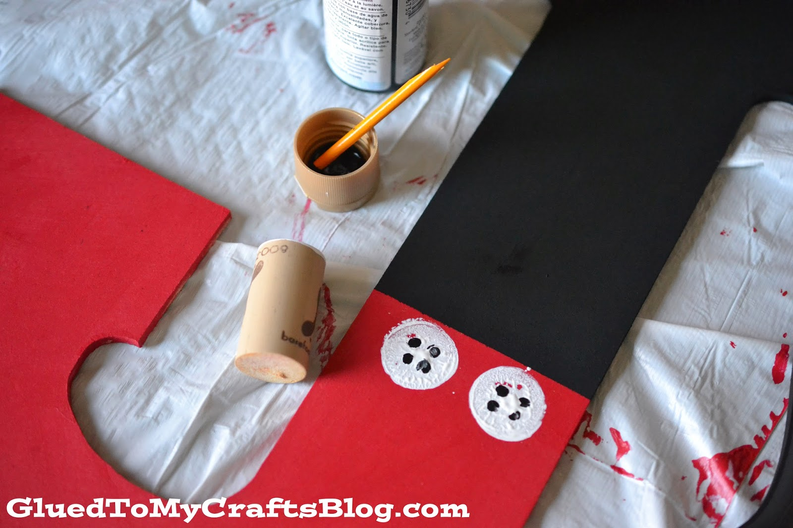 DIY Mickey Decor {Craft}