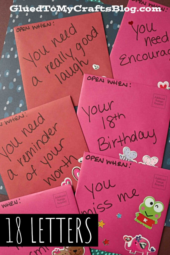 18 Letters To My Son - Gift Idea For His Birthday