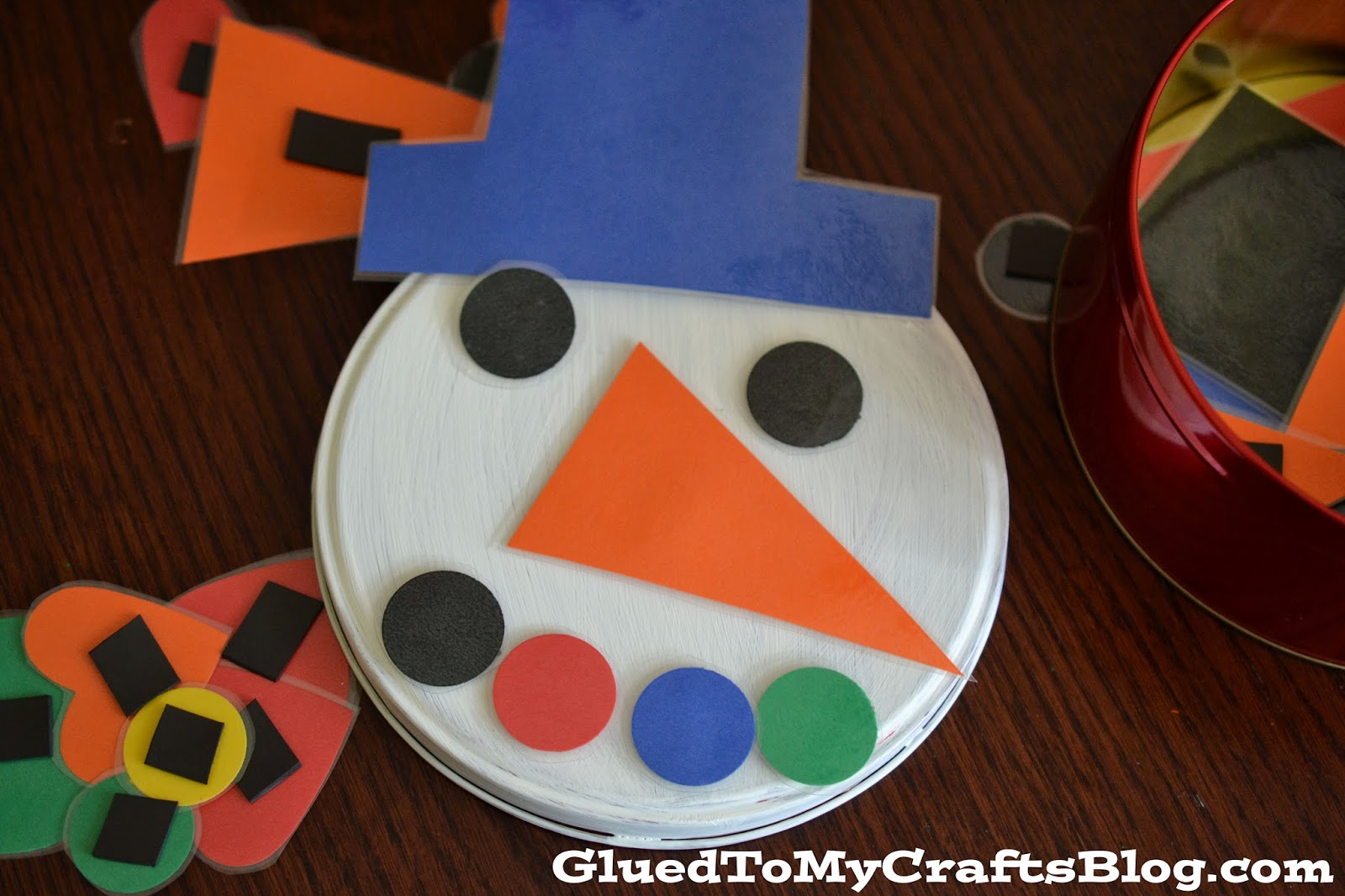 Snowman {Busy Bag} Tin