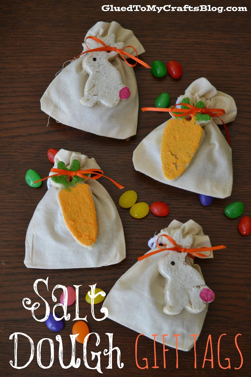 Salt Dough Gift Tags {Craft}