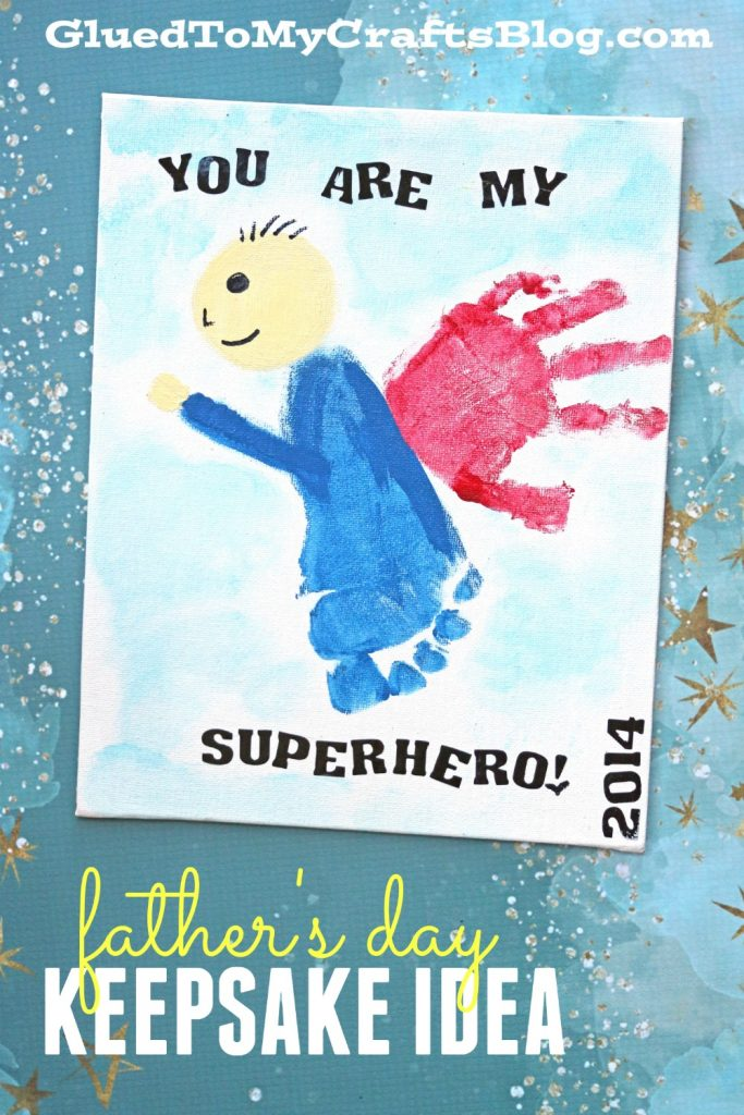 You Are My Superhero {Father's Day Gift Idea}