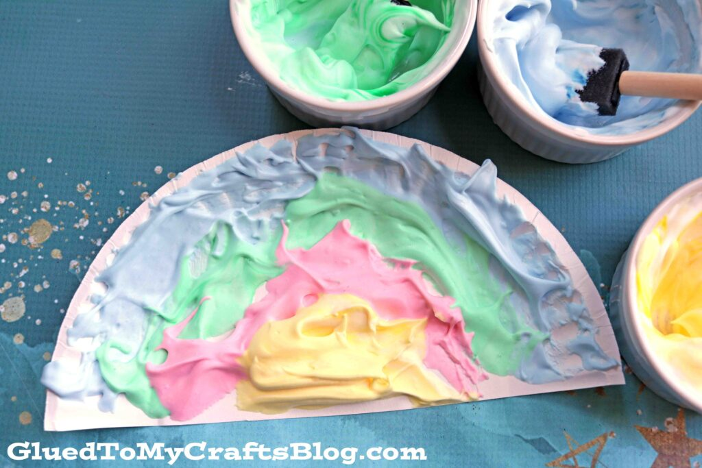 Homemade Puffy Paint Recipe - Kid Craft Idea