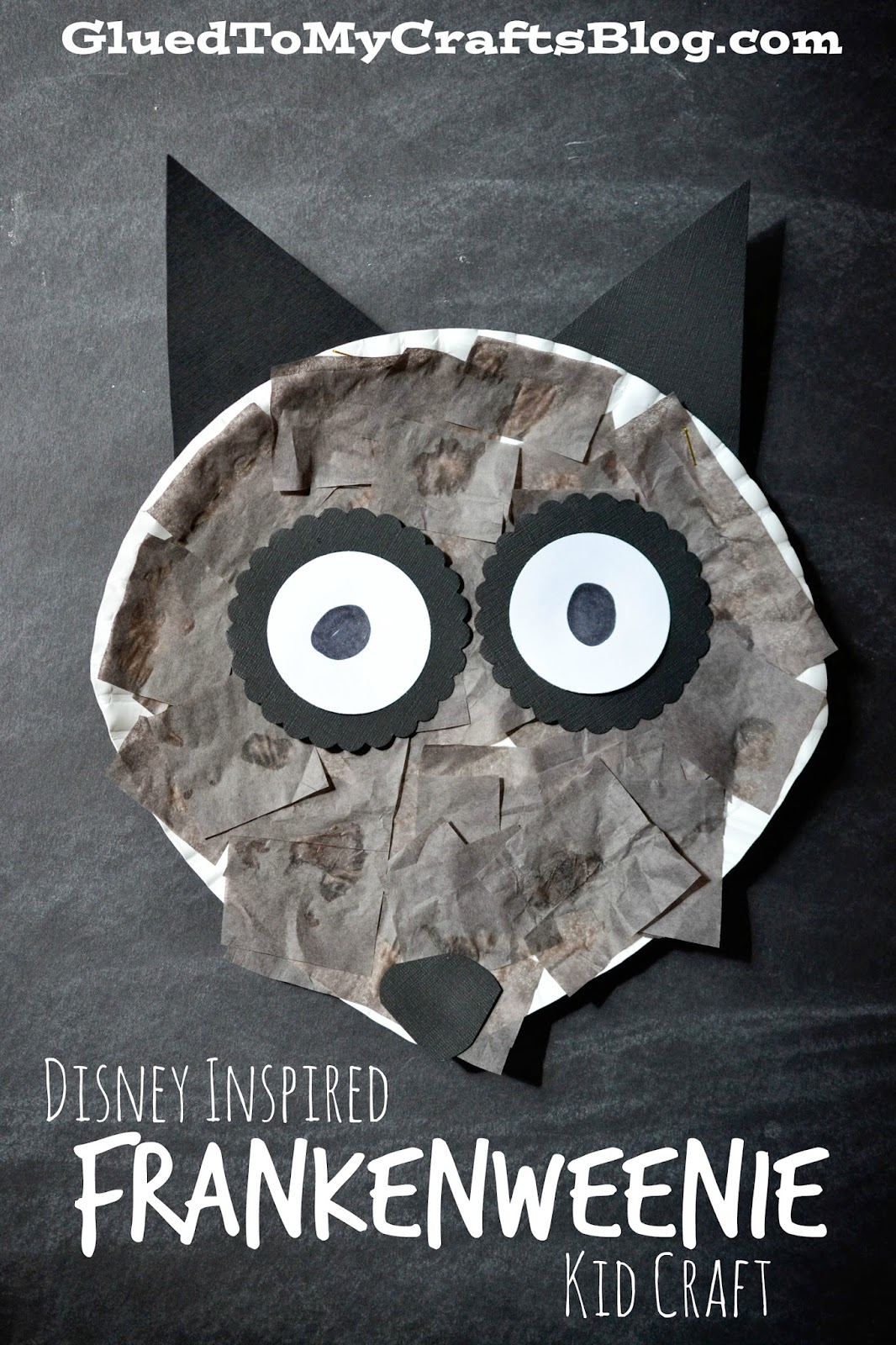 Disney Inspired Frankenweenie Kid Craft