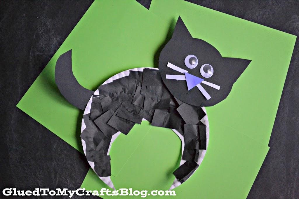 Halloween Black Cat {Kid Craft}