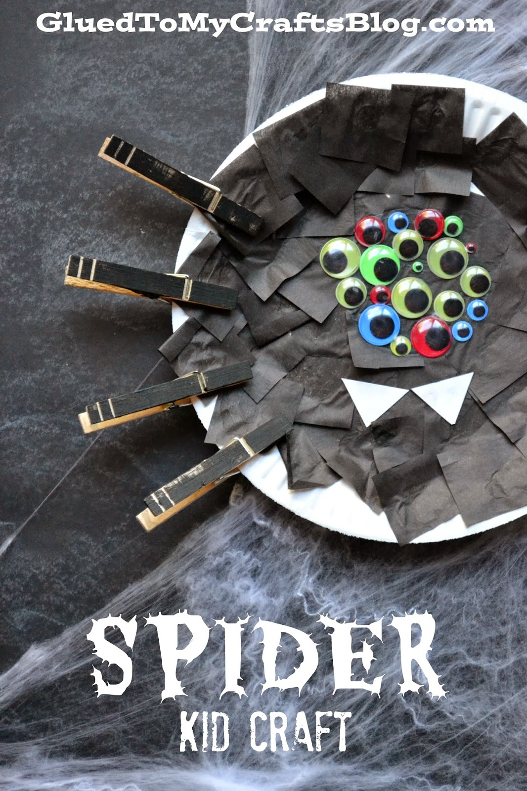 Halloween Spider {Kid Craft}