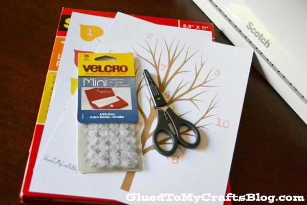 Fall Tree - Busy Bag Idea + Free Printable