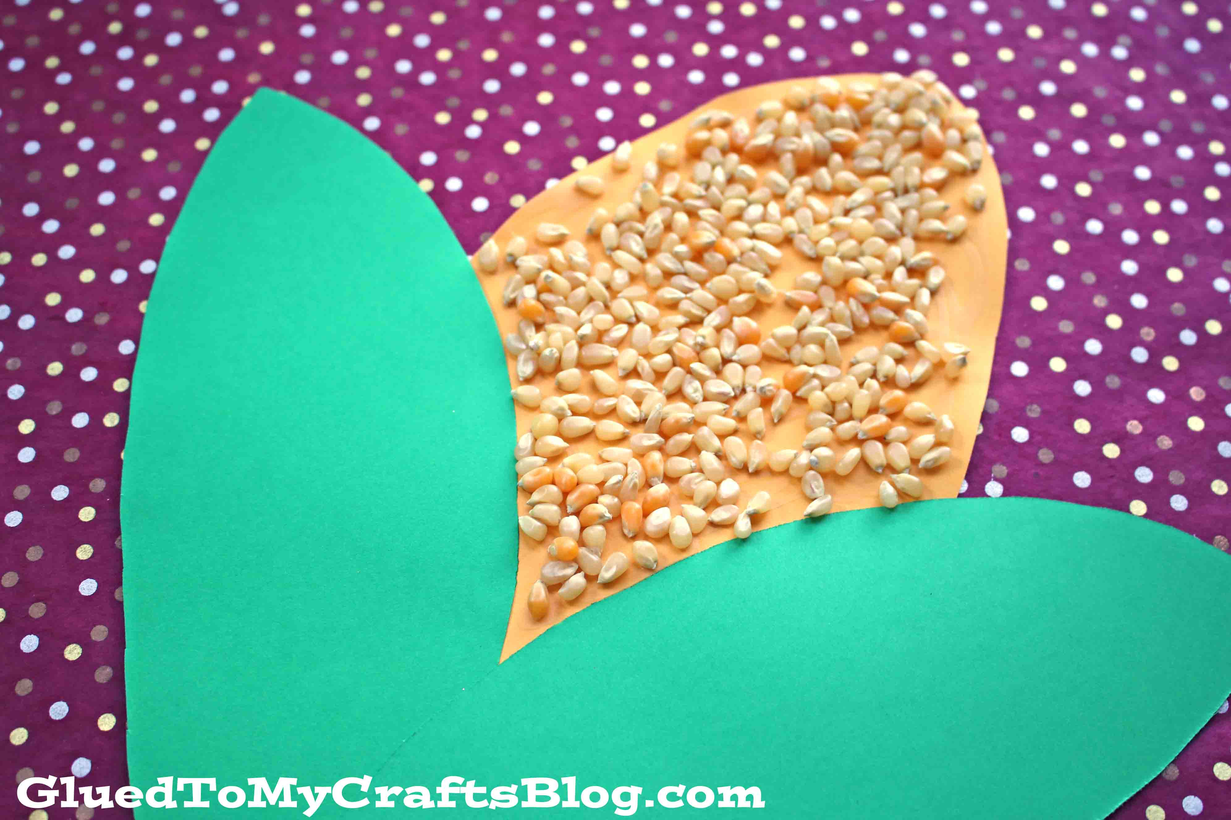 Corn On The Cob {Kid Craft}