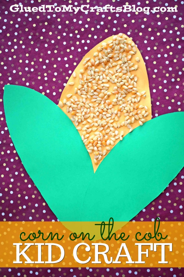 Paper Corn On The Cob {Kid Craft Idea}