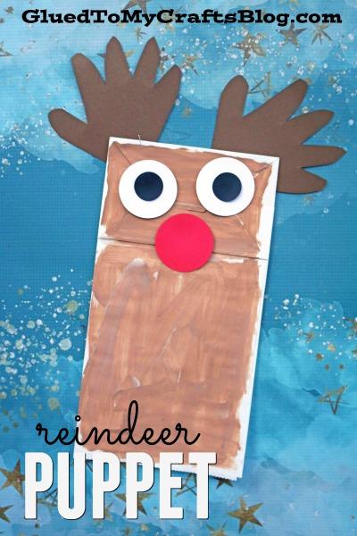 Paper Bag Reindeer {Kid Craft}