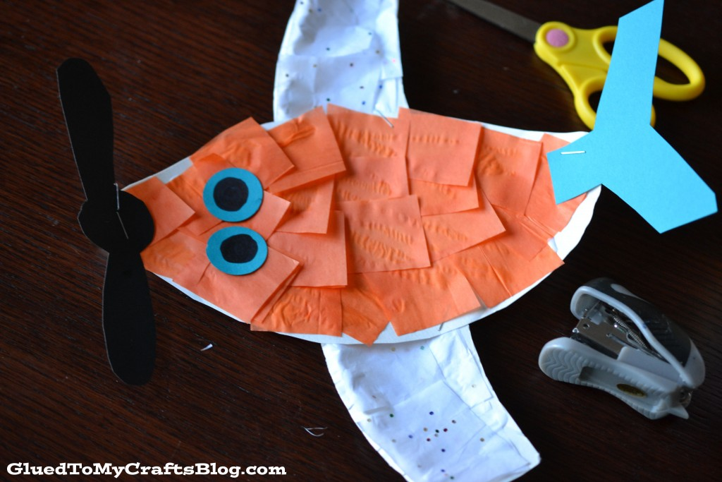 Disney Planes Dusty {Kid Craft} #PlanesToTheRescue