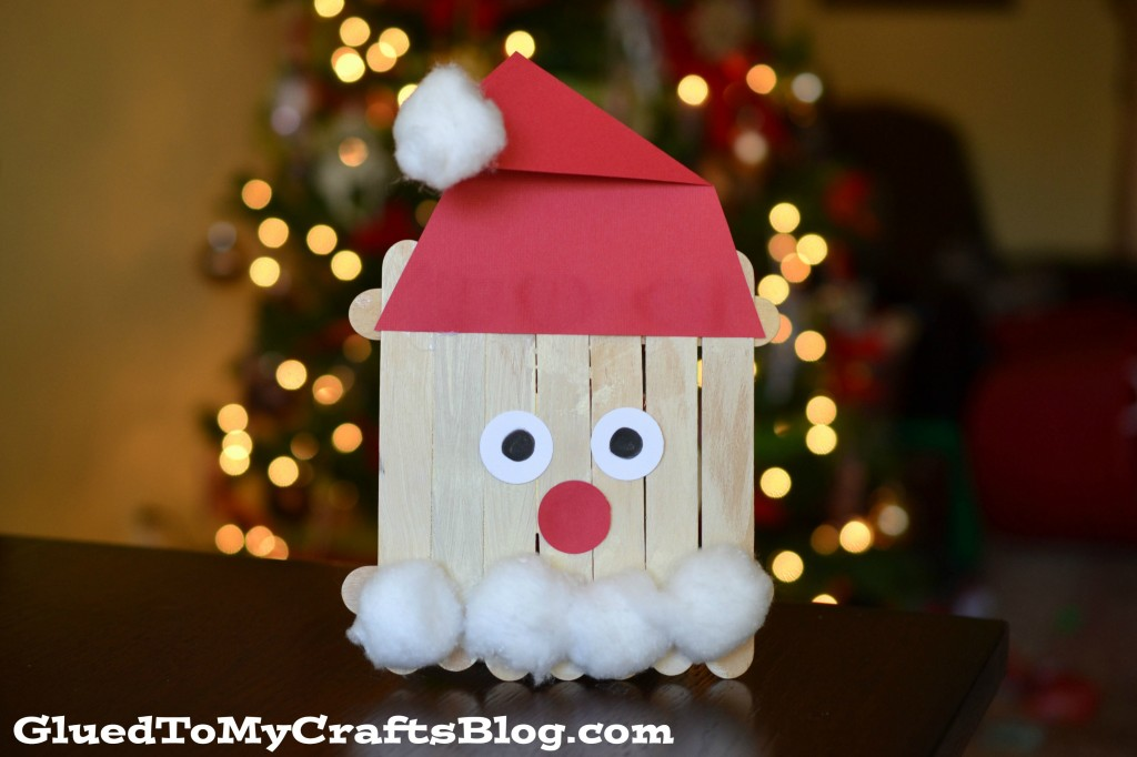 Popsicle Stick Santa {Kid Craft}