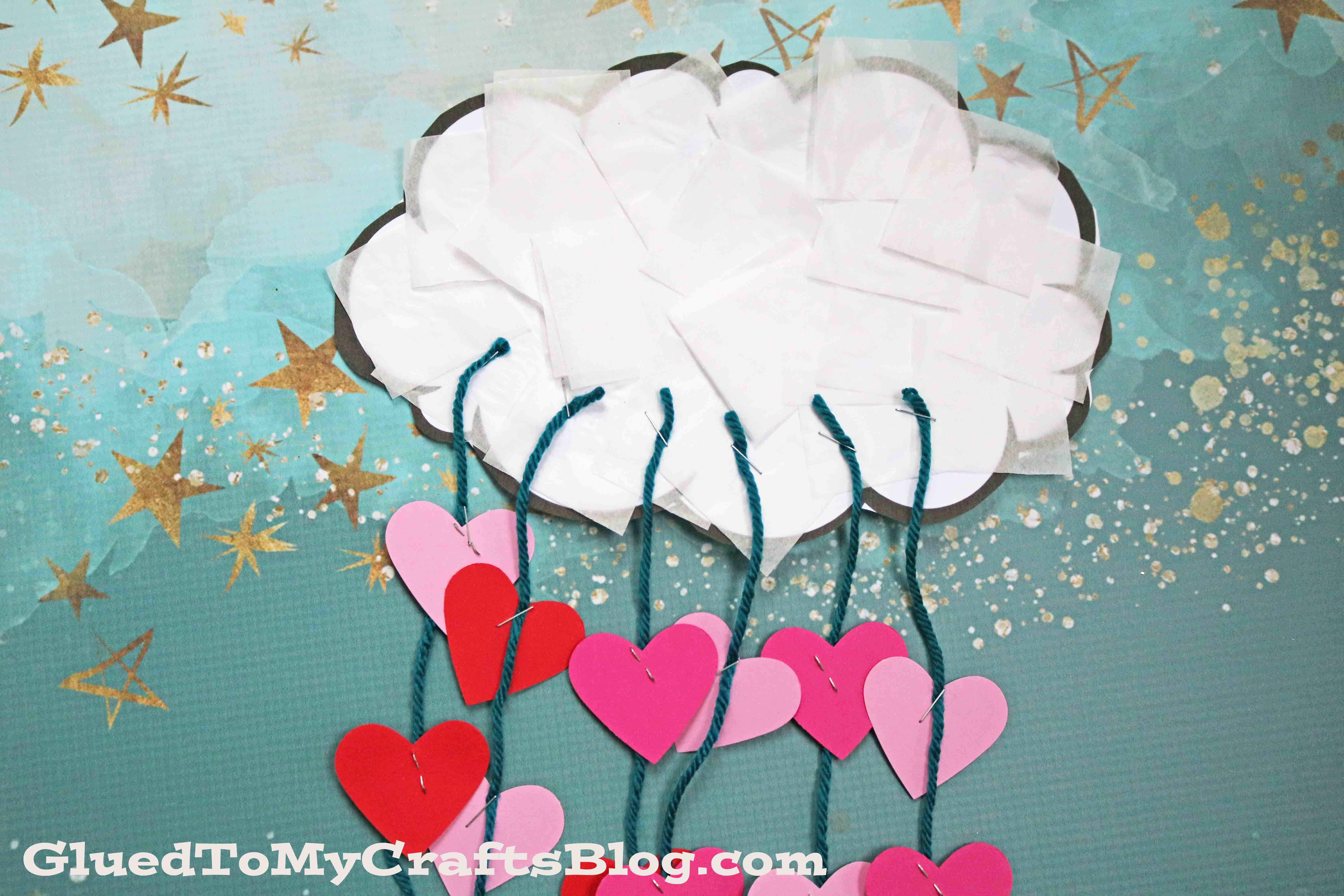 The Day It Rained Hearts - Cloud Kid Craft