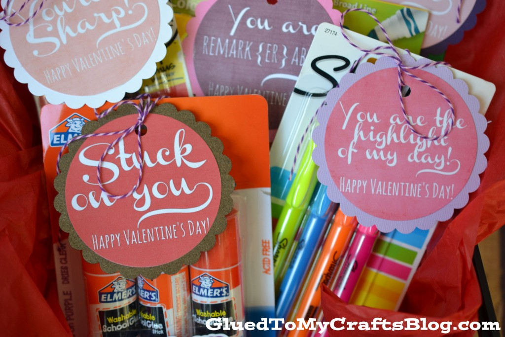 Valentine Teacher Gift Idea + Free Printable