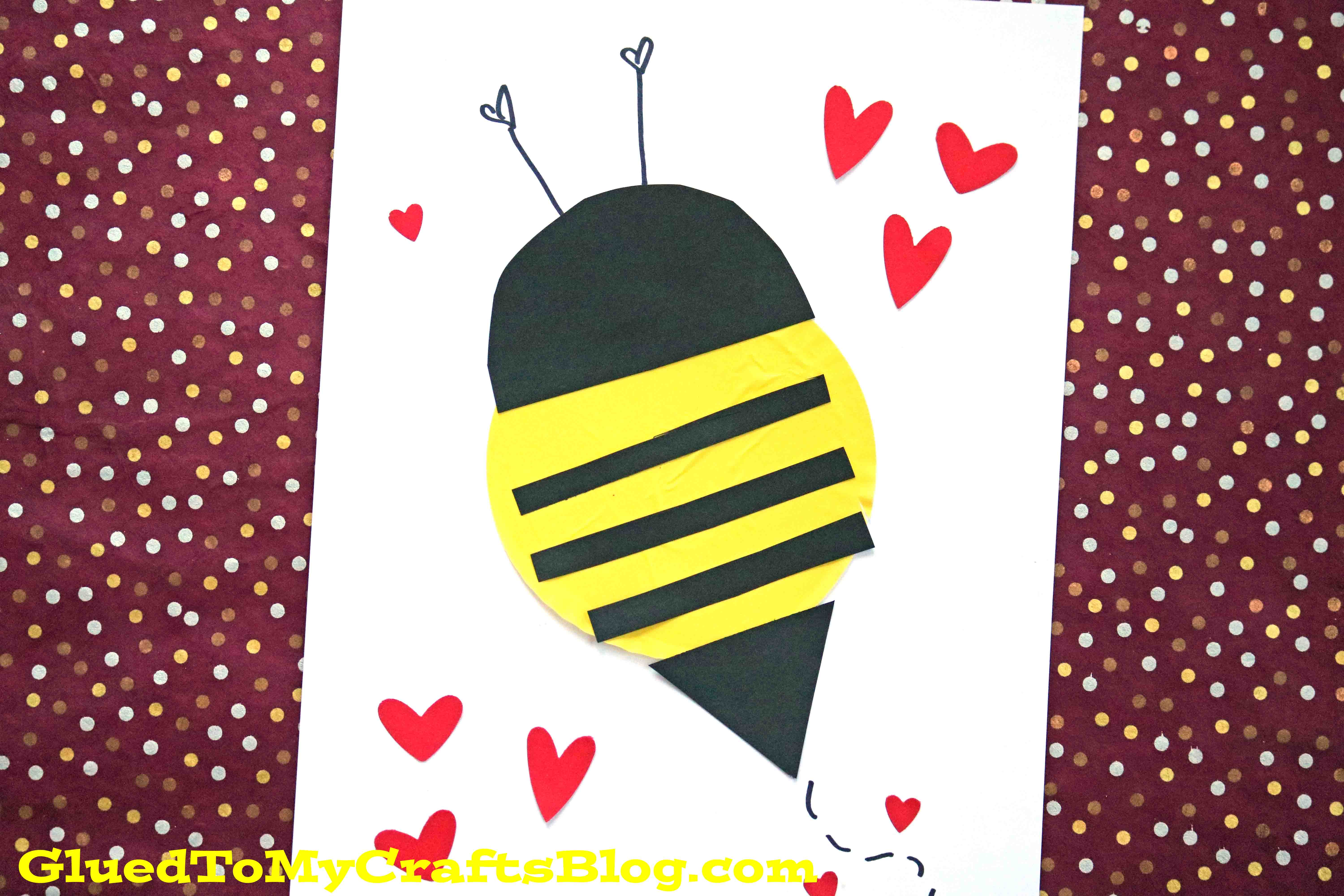 Cupcake Liner Bees {Kid Craft}