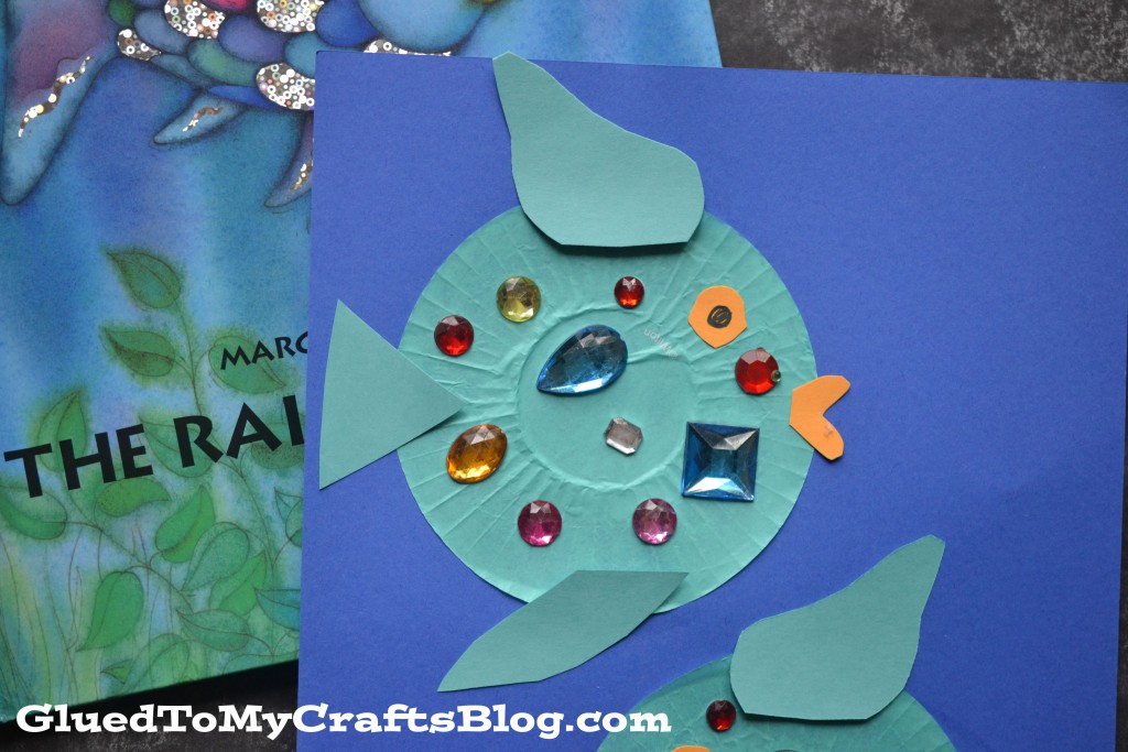 Cupcake Liner Rainbow Fish {Kid Craft}