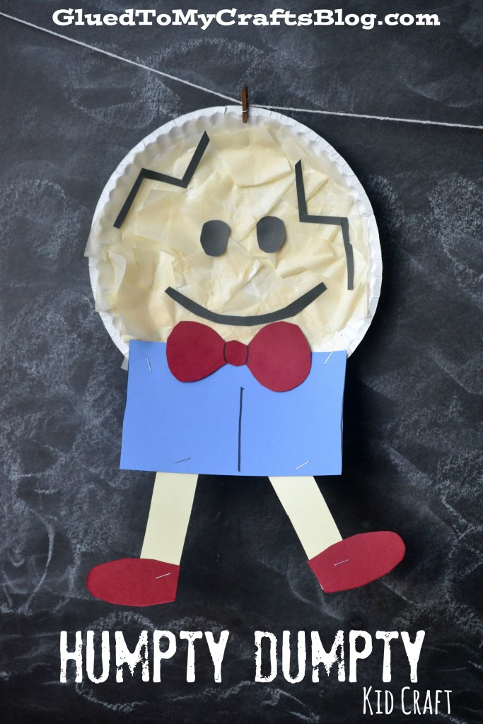 Paper Plate Humpty Dumpty {Kid Craft}