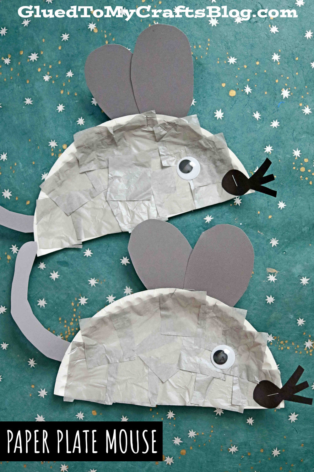 Paper Plate Mouse - Kid Craft Idea