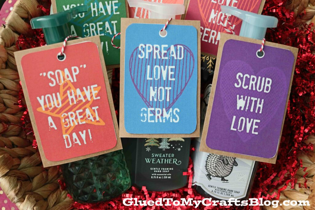 Foaming Hand Soap Gift Idea - Gift Tag Freebie Included!