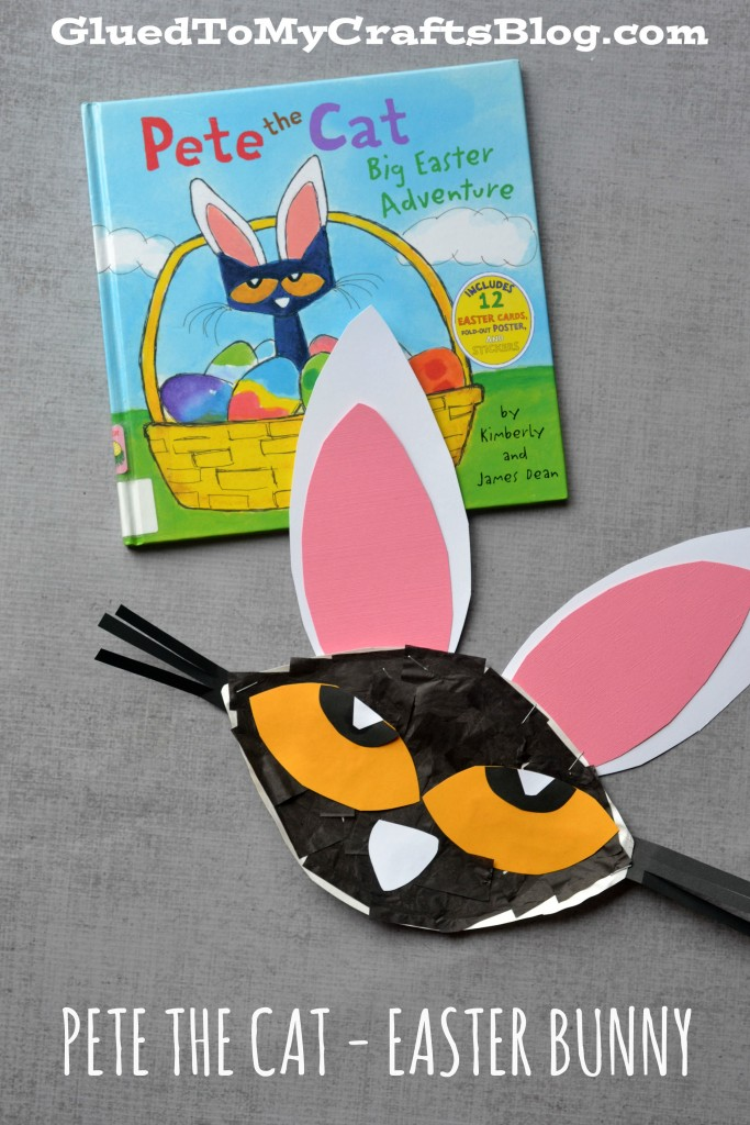 Paper Plate Pete The Cat - Easter Bunny Kid Craft Idea
