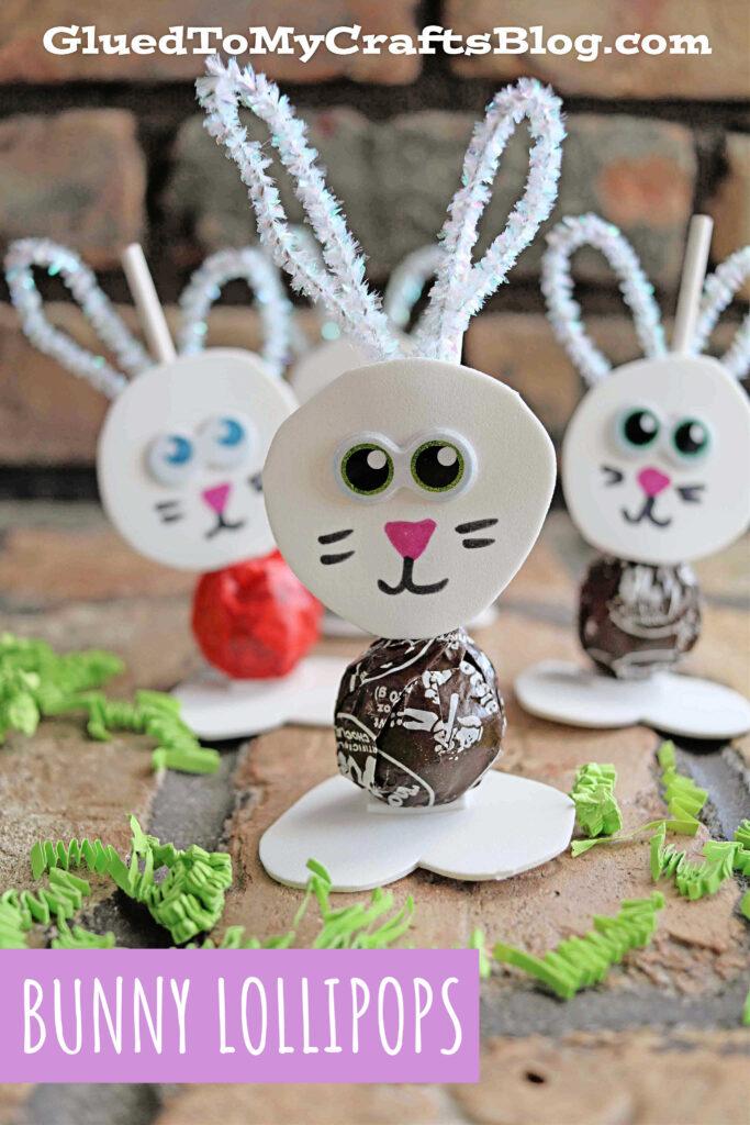Bunny Lollipops - DIY Gift Idea For Easter