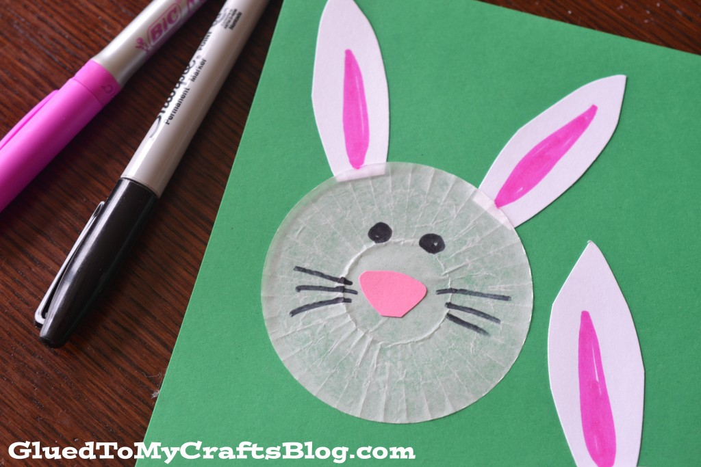 Cupcake Liner Bunnies {Kid Craft}