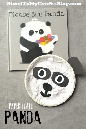 Paper Plate Panda {Kid Craft}