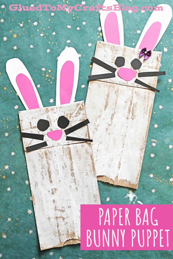 Paper Bag Bunny - Easter Kid Craft Idea