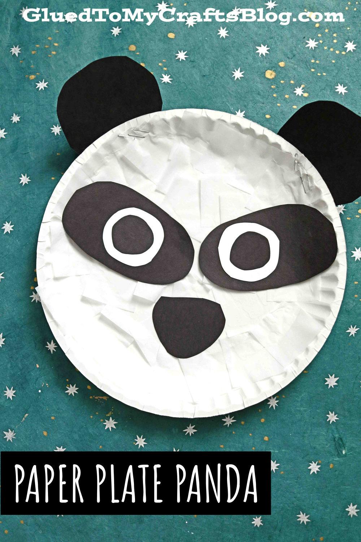 Tried and True Paper Plate Panda - Kid Craft Idea