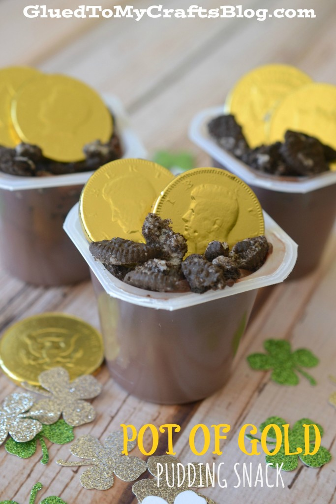 Pot of Gold - Pudding Snack