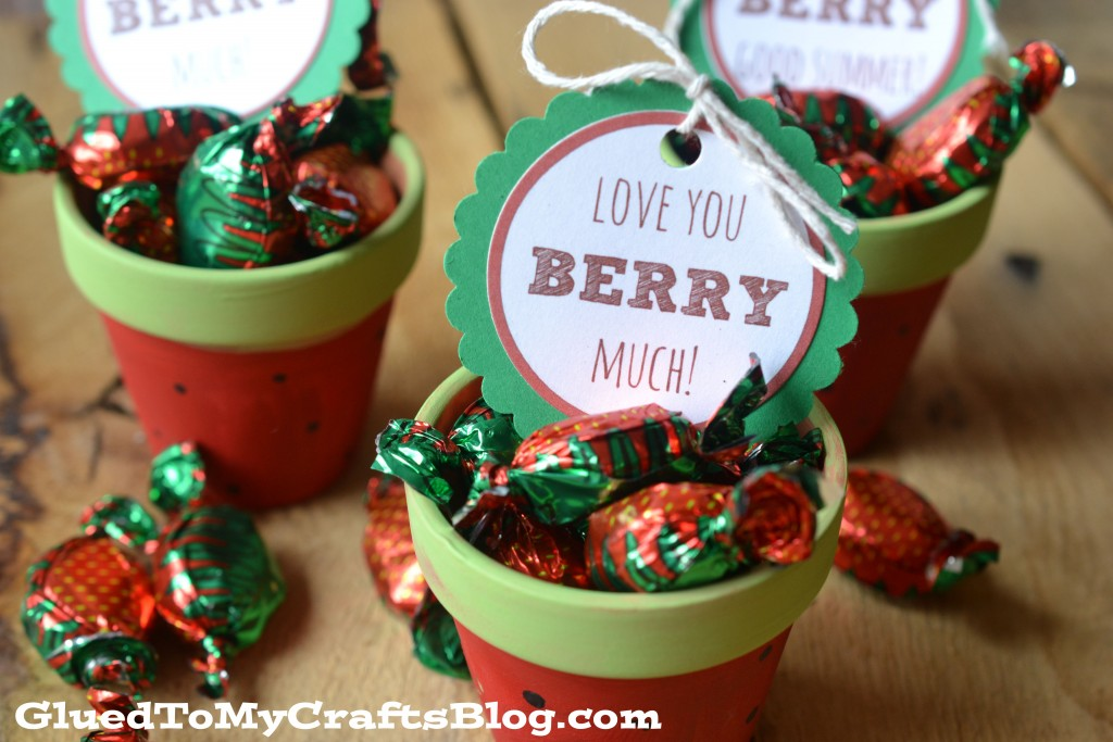 Berry Much - Gift Tag Printable