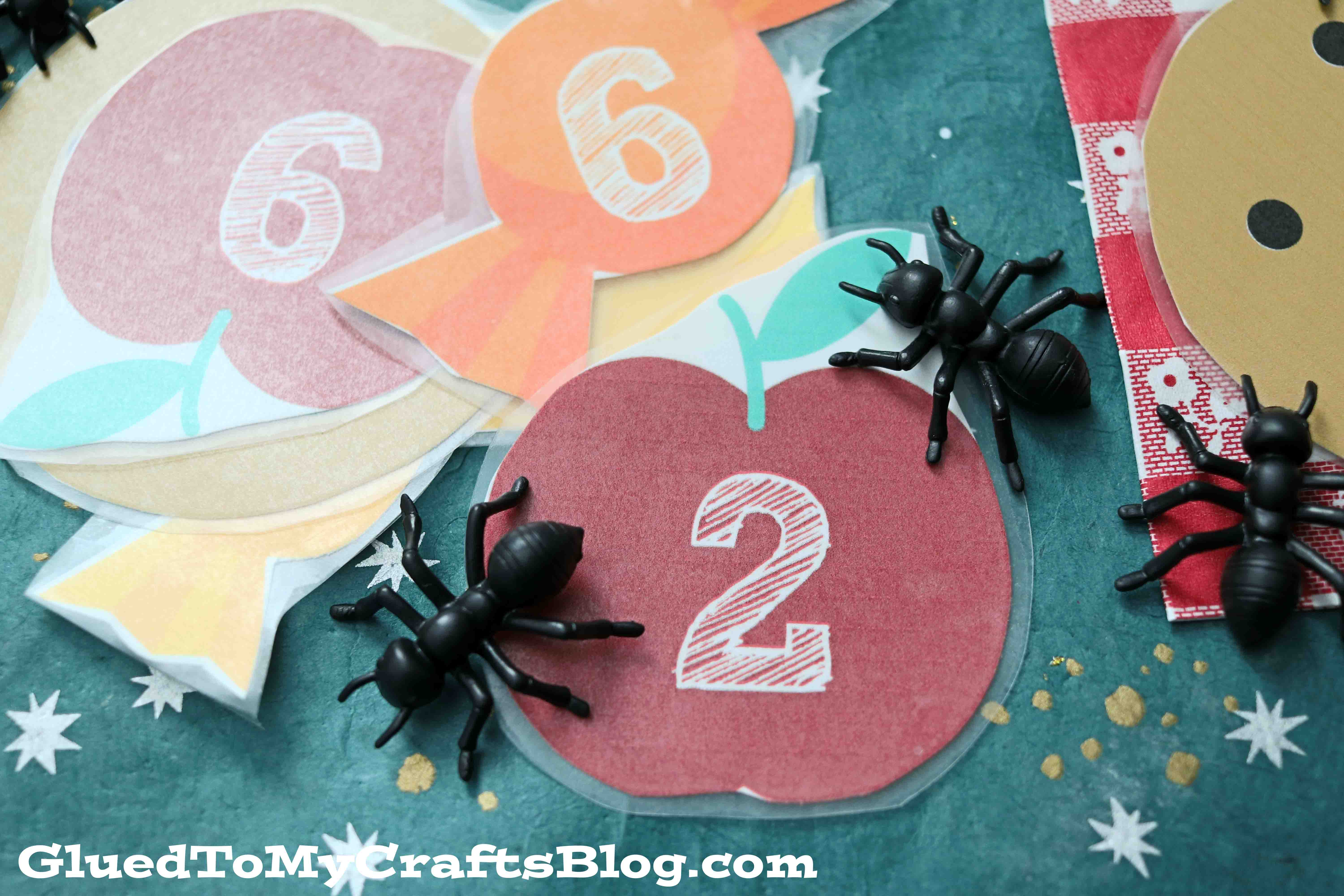 Counting Ants Game For Toddlers - Free Printable Included