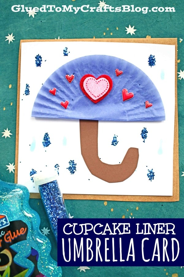 Handmade Card Idea For A Rainy Day