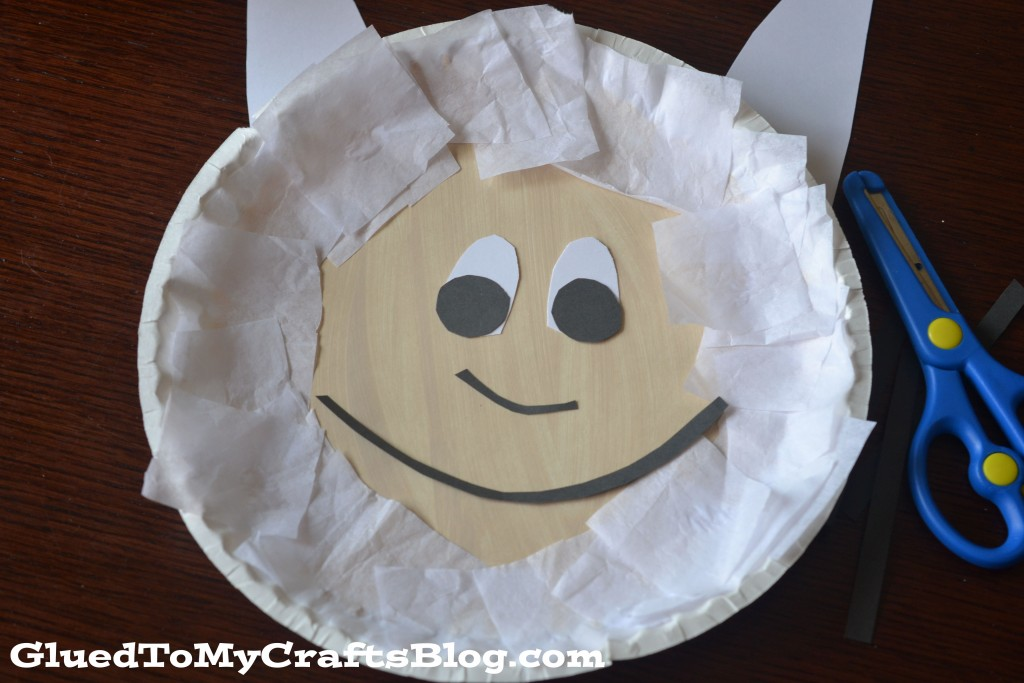 Paper Plate Max {Kid Craft}