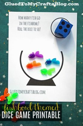 Fishbowl Dice Game Printable