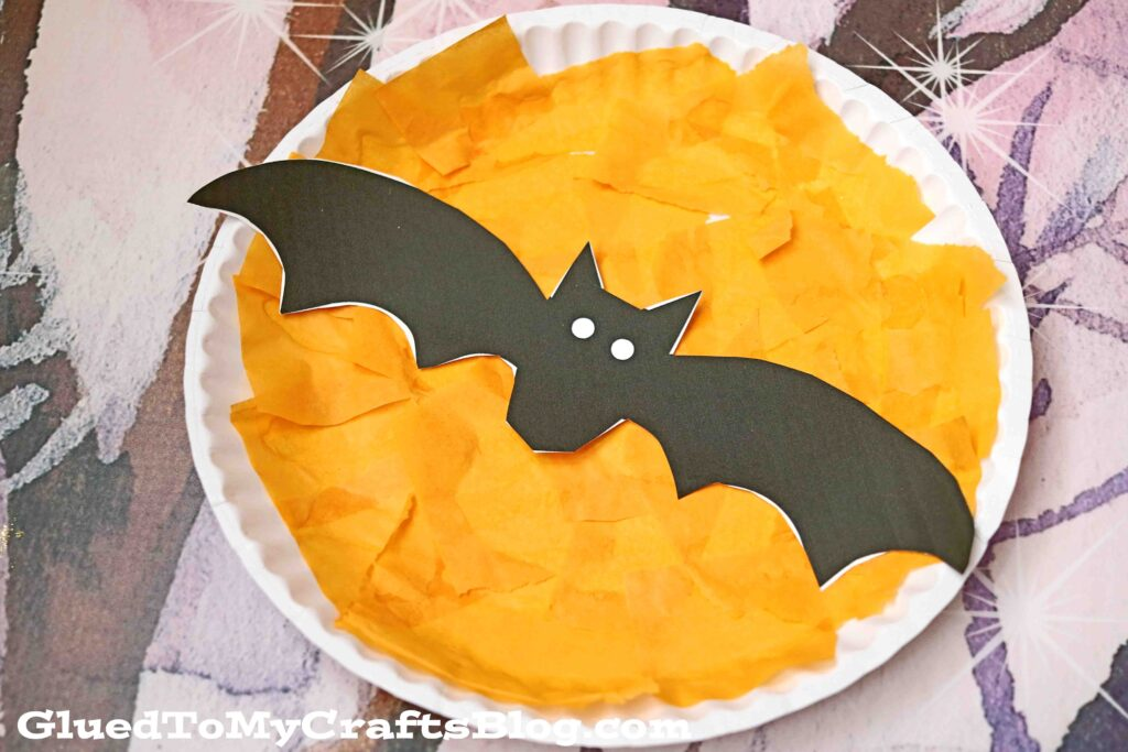 Paper Plate Fright Night - Halloween Kid Craft
