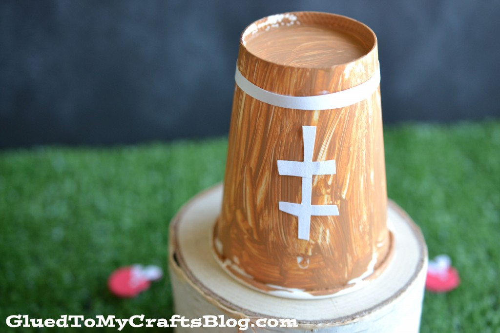 Paper Cup Football - Kid Craft