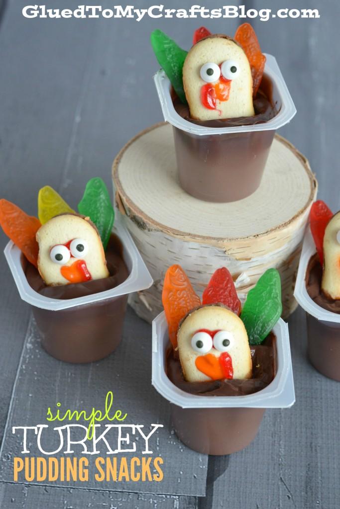 Simple Turkey Pudding Snacks