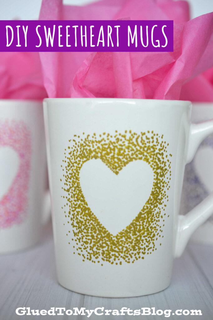 DIY Sharpie Painted Mugs - That Won't Wash Away!