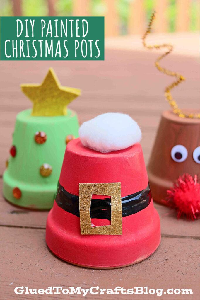 Terra Cotta Pot Christmas Decor - Kid Craft